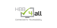 Logo HBB4all - Connected TV Accessibility